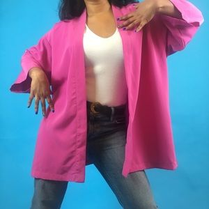 American Apparel Bright Pink Kimono 💕